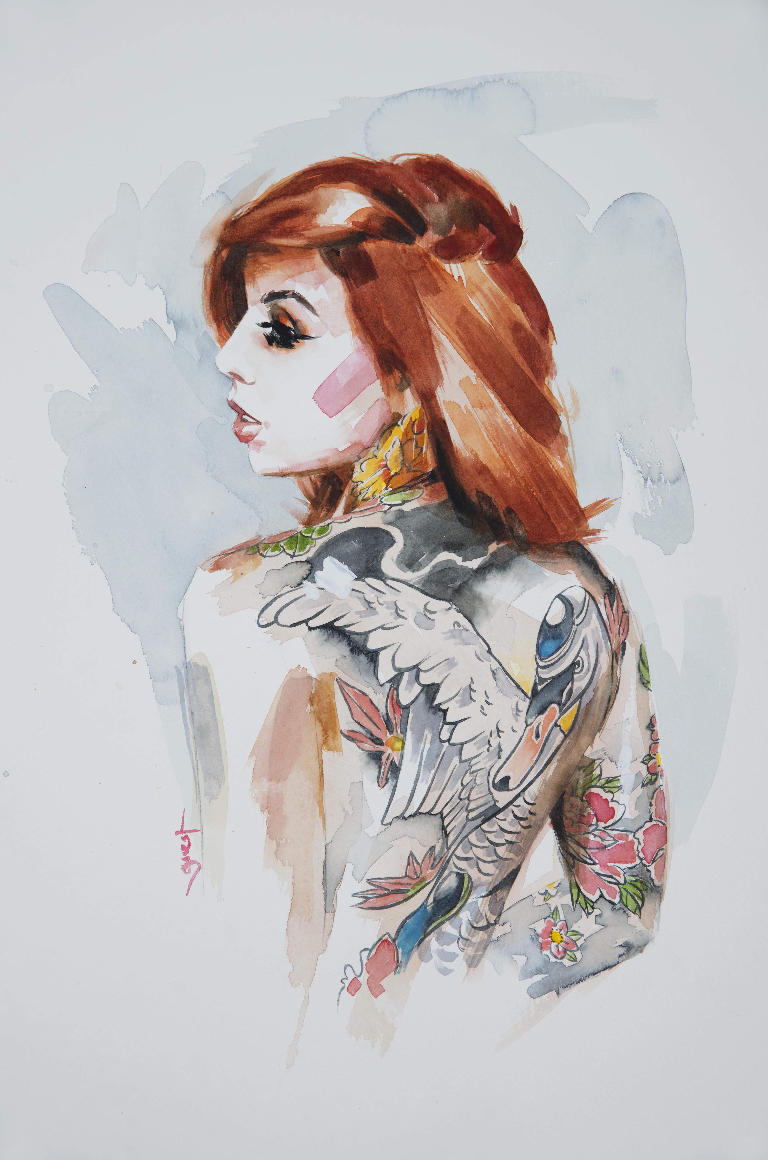 'Swan Tattoo'
