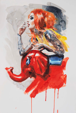 """RED ELEPHANT"""