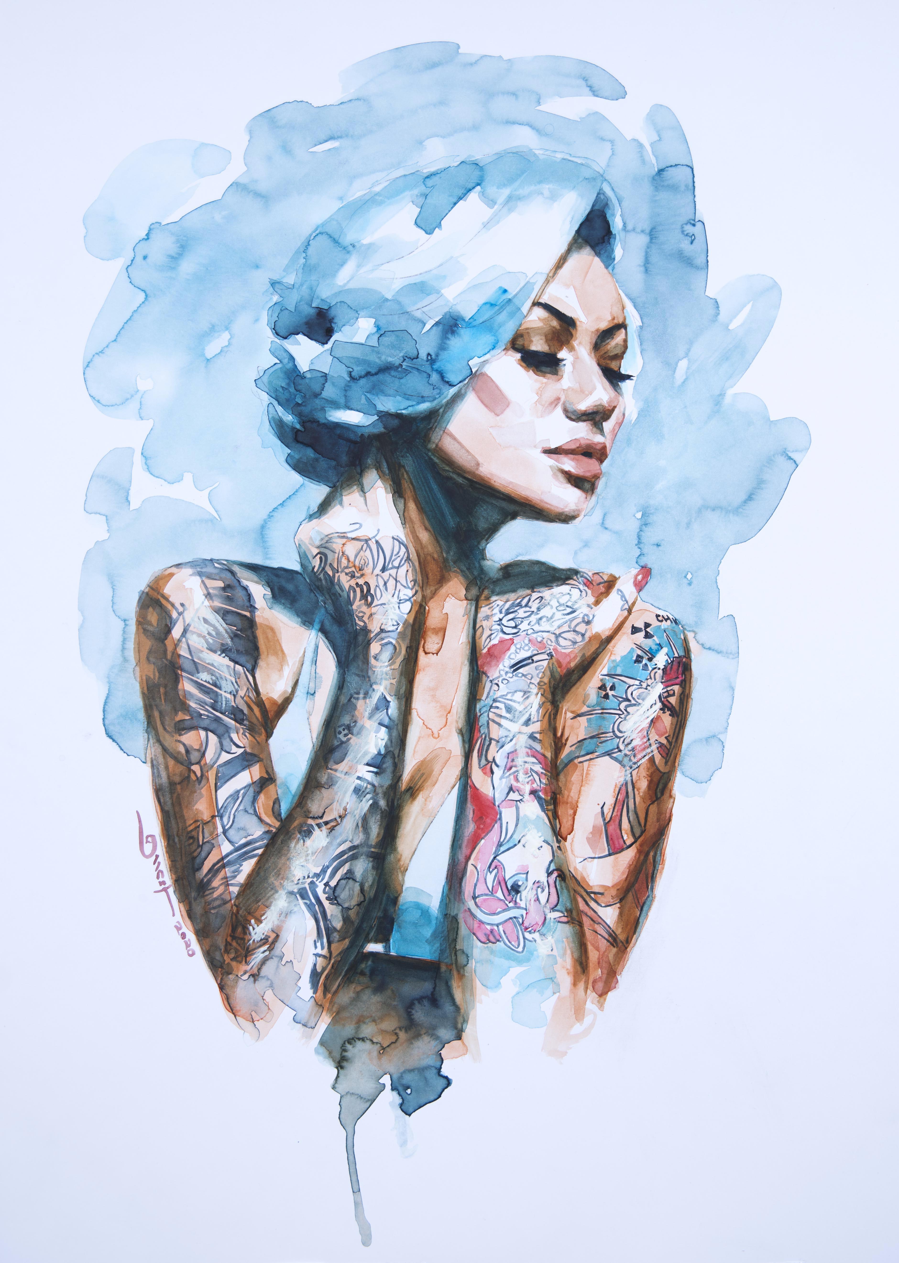 """""""BLUE HAIR"""""""