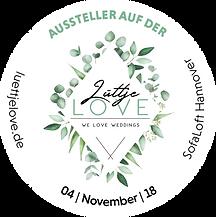 Lüttje LOVE Messe - Federgold