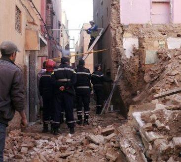 الدار البيضاء .. إنهيار 3 منازل بالمدينة القديمة والحديث عن وجود ضحايا تحت الأنقاض