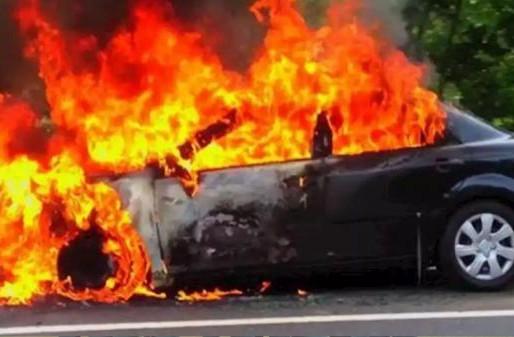 في حادث مأساوي ..النيران تلتهم شخصا حتى الموت داخل سيارة بتازة