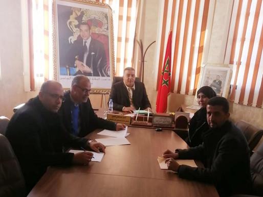 مجلس جماعة سيدي رحال يستعد لنشر حصيلة تدبيره للفترة ما بين شتنبر 2015 و 2021.