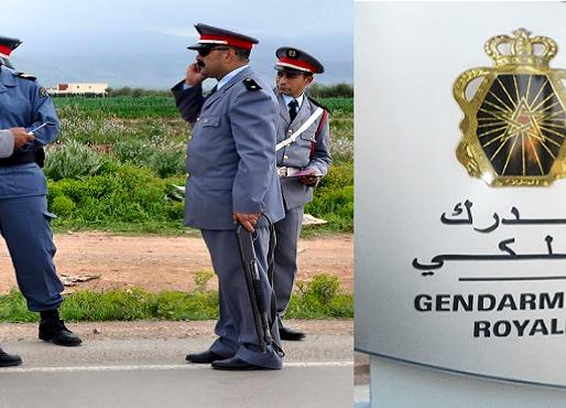 الدرك الملكي بدار بوعزة  يحقق حصيلة مشرفة وجد إيجابية في محاربة الجريمة خلال سنة 2020