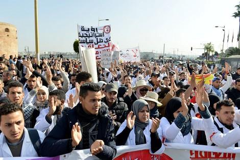 الرباط ..ولاية الأمن تنفي استخدام القوة والعنف لتفريق احتجاج للأساتذة المتعاقدين