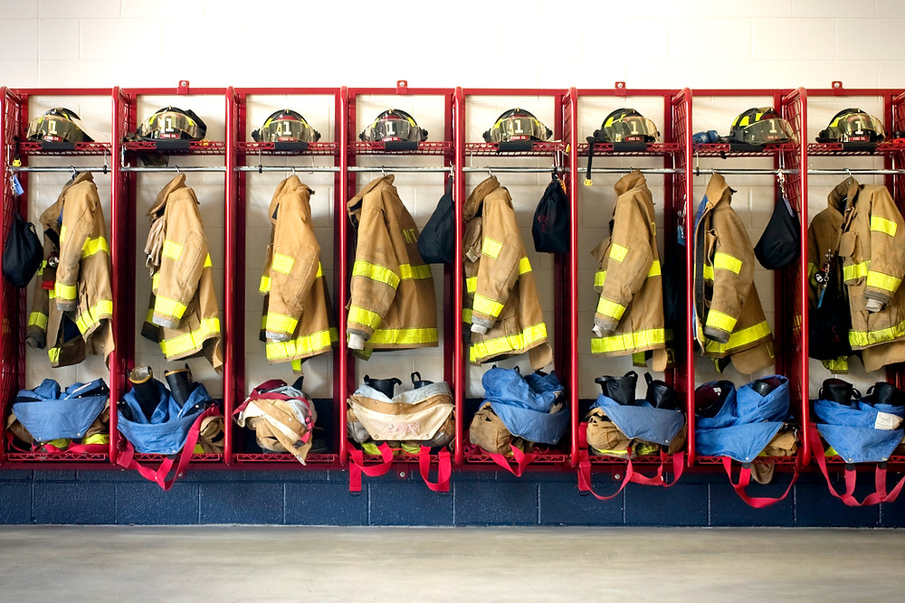 Firefighters uniform ready for use against fires in Croatia