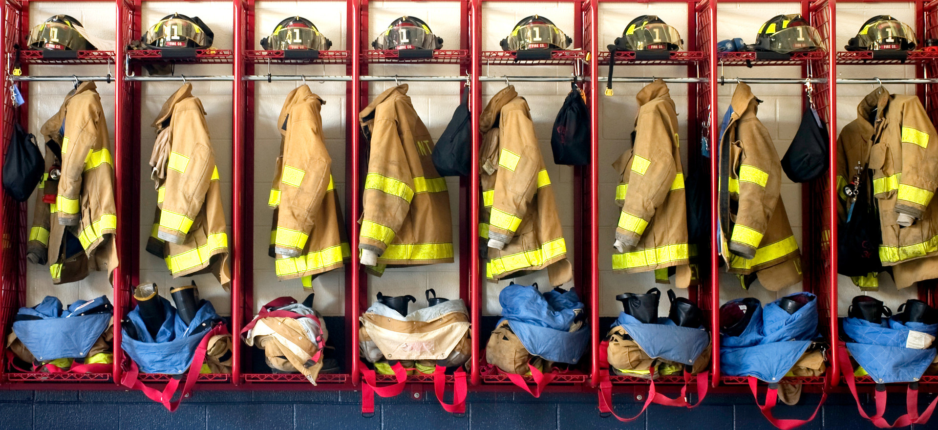 Turnout Gear, Suppression Equipment and Station Racks