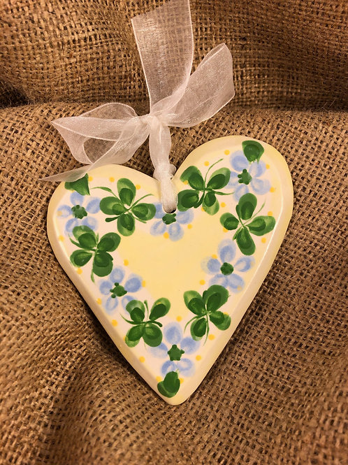 Petal and Clover Heart