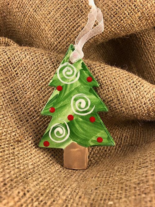 Christmas Tree (Swirly)