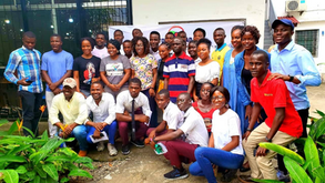 Youth Group Rollup Sleeves to Promote Accountability in Liberia