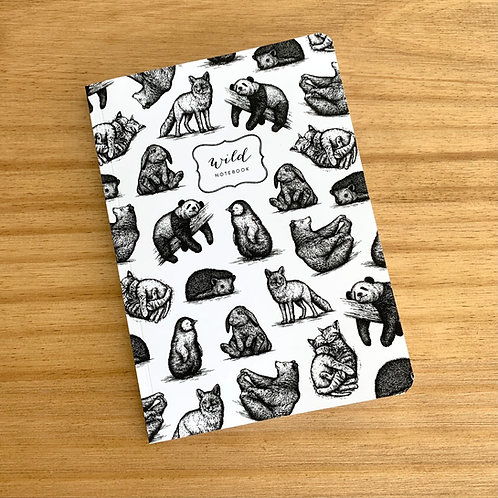 Cuaderno con lomo Wild