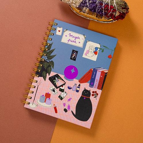 Cuaderno A5 Magia pura