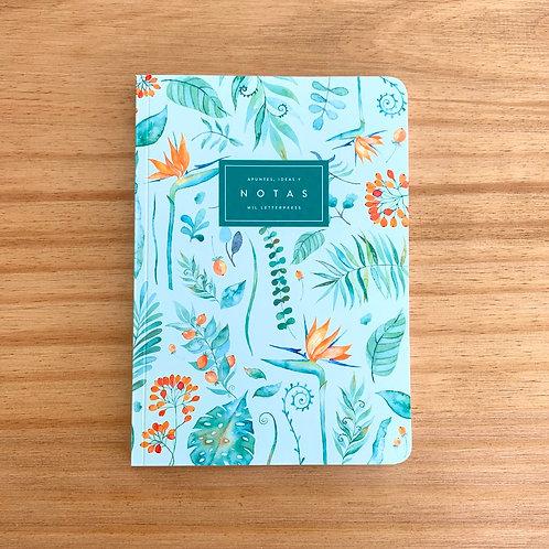 Cuaderno con lomo Strelitzia