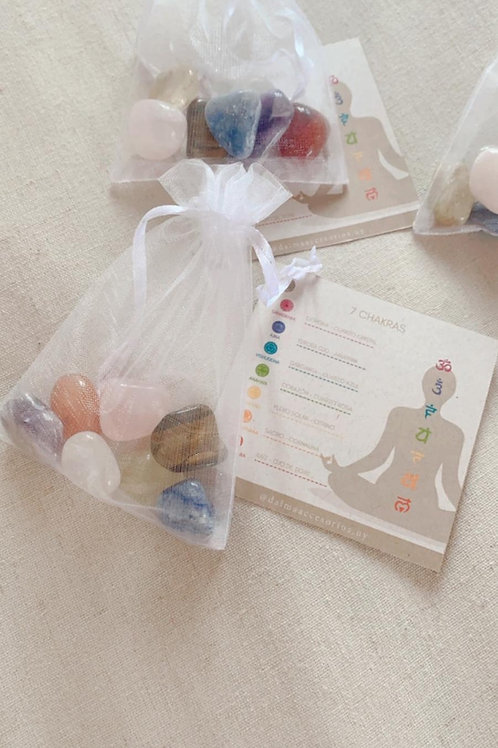 Kit de piedras naturales