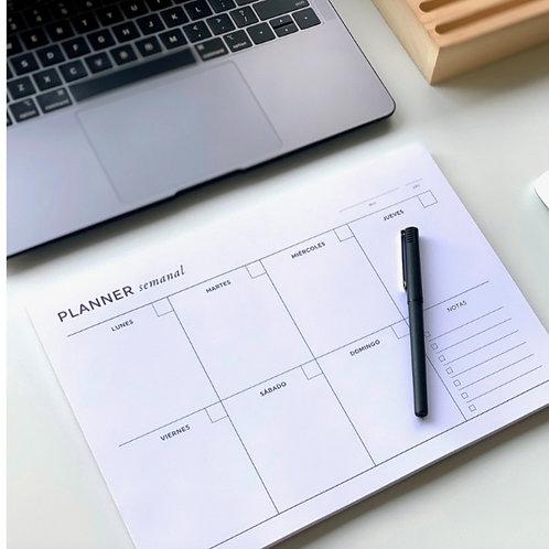 Planner semanal A4