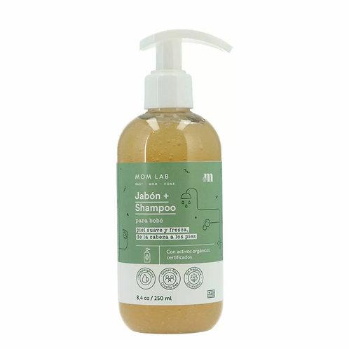 Jabón + Shampoo para bebé