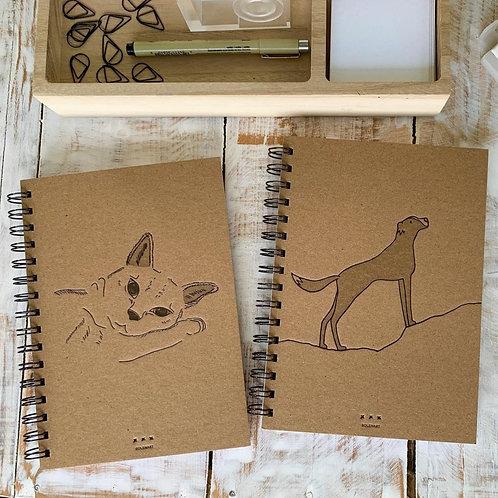 Cuaderno perro