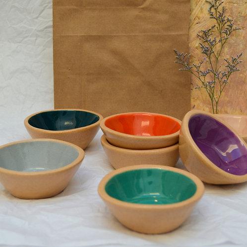 Cuencos de cerámica x 3