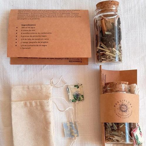 Mini kit té yogui