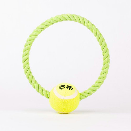 Cuerda con pelota