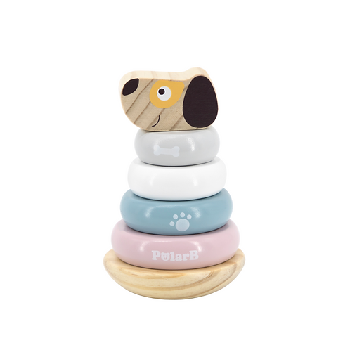 Apilable perrito en madera