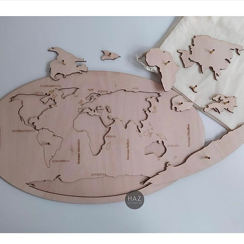 Puzzle Mapa mundo
