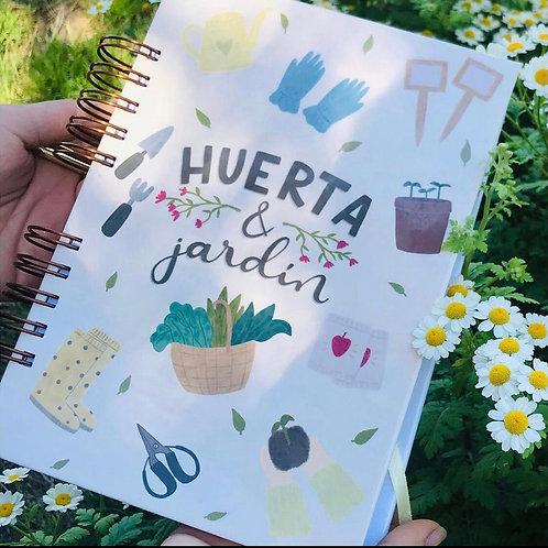 Cuaderno Huerta y Jardín