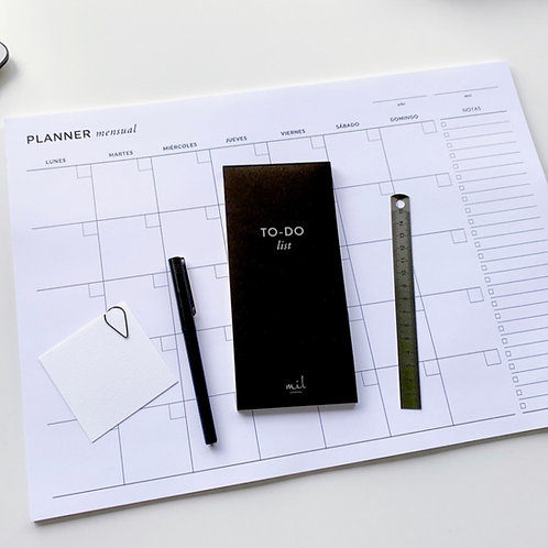 Planner mensual A3