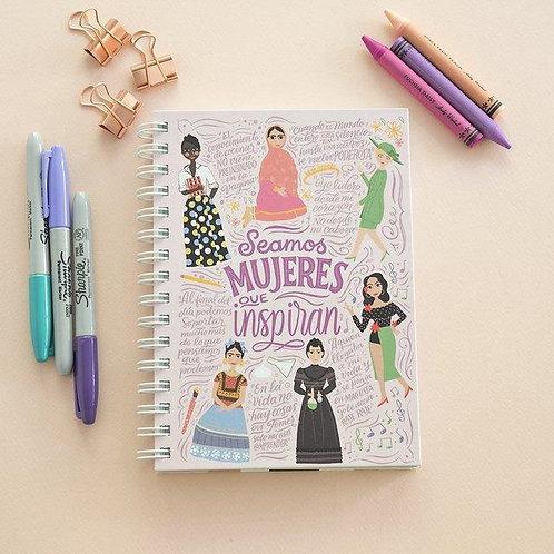 Cuaderno A5 Mujeres
