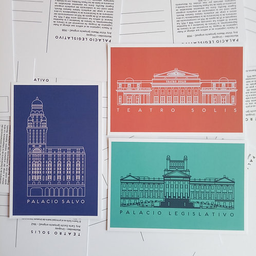 Postales Monumentos Históricos