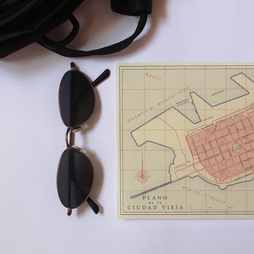 Mapa Ciudad Vieja