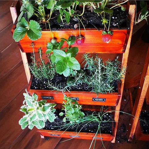 Jardinera  3 niveles