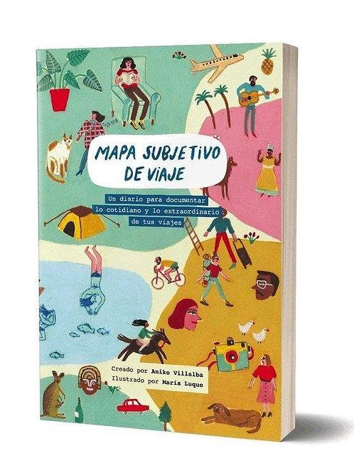 """Libro """"Mapa subjetivo de viajes"""""""