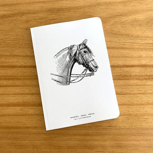 Cuaderno con lomo Caballo