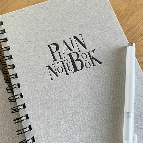 Cuaderno Plain Notebook