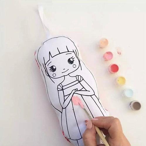 Muñeca para pintar