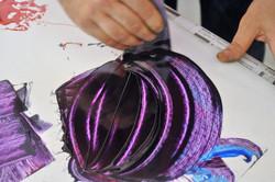 Mescolamento colore da stampa