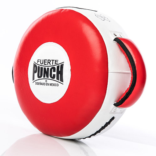 Punch Mexican Fuerte Round Boxing Shields