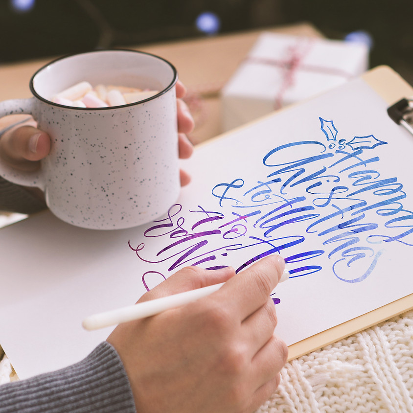 Wiley Exclusive: Festive Modern Calligraphy Workshop