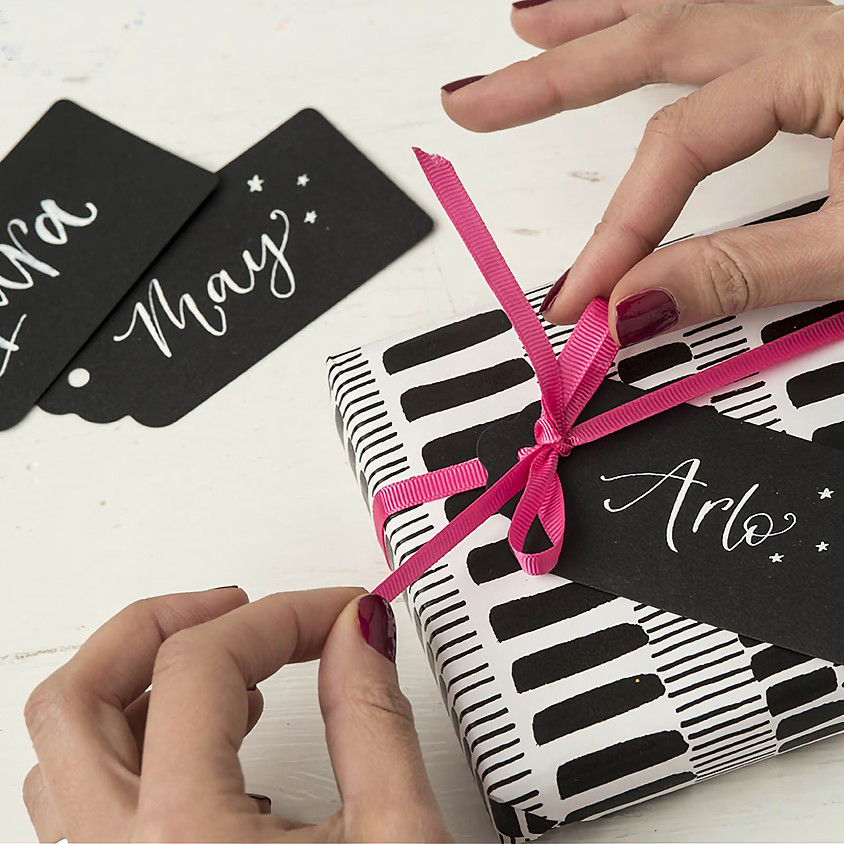 Chichester: Beginners Modern Calligraphy Pointed Nib Christmas Workshop - Tuesday 19th November 2019 - Morning
