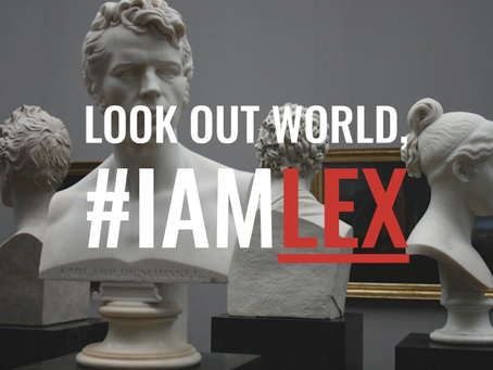 JOIN THE LEX MOVEMENT, we'd love to have you!