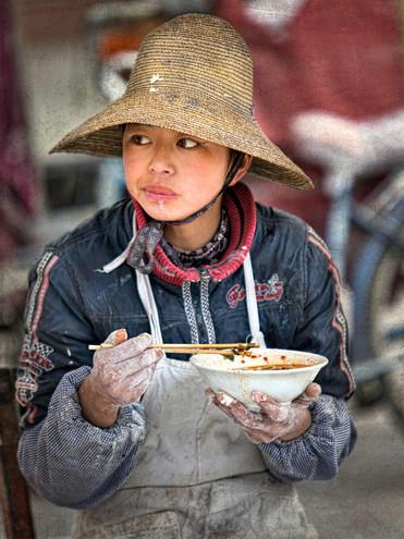Lunch Break; Xizhou,China