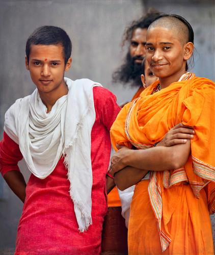 Young Monks, Varanasi