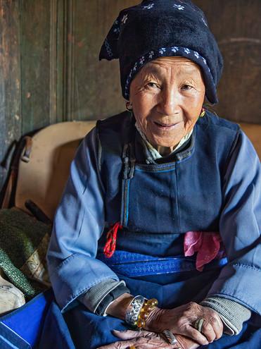 Portrait of Villager; Xizhou,China