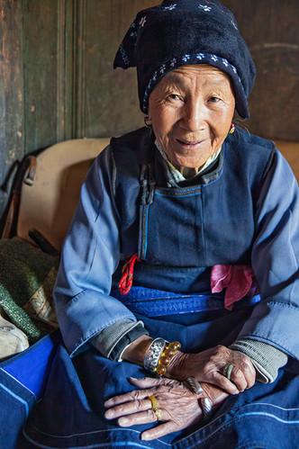 Elder Portrait; Zoucheng,China