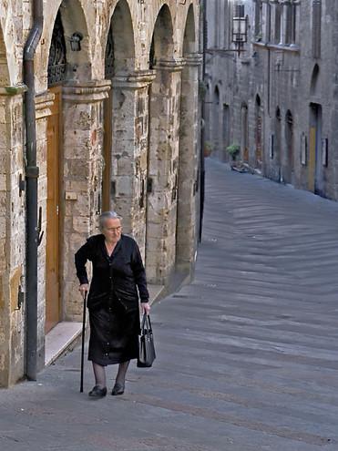 A Rare Moment of Solitude;  San Galgano; Italy
