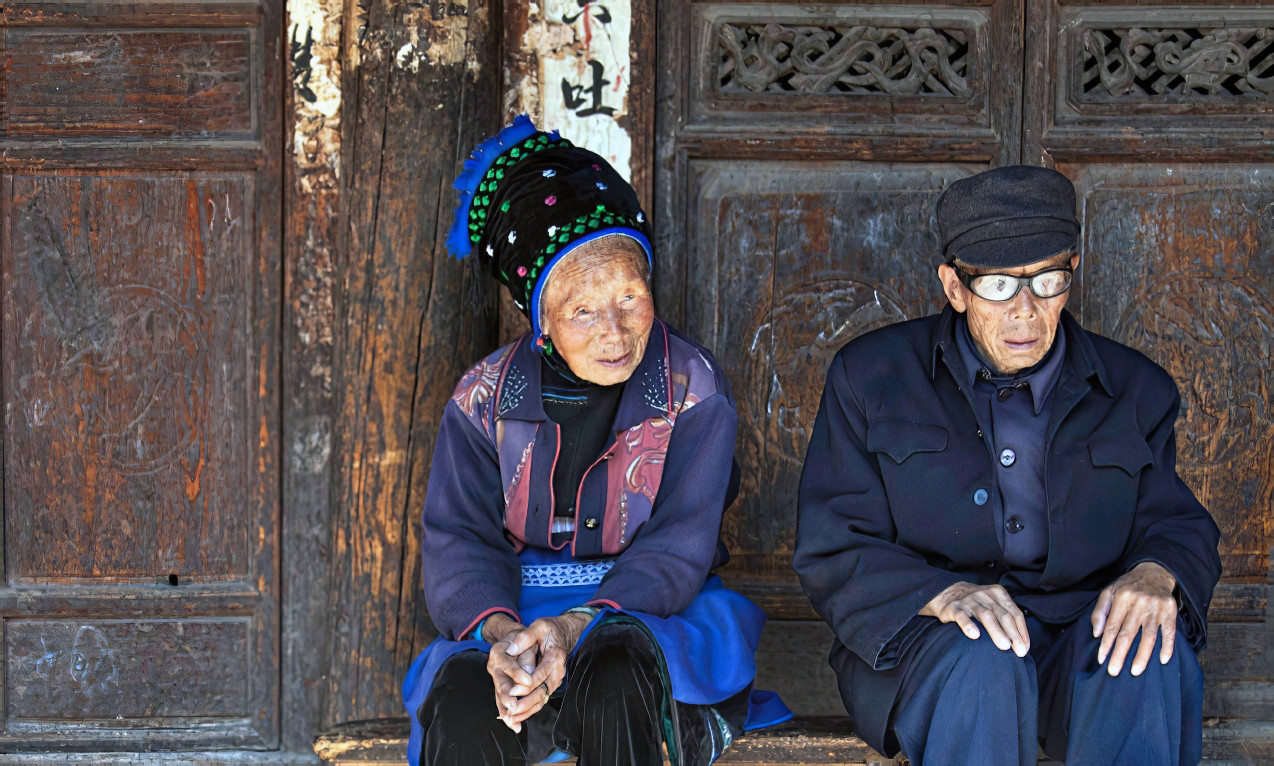 60 years together;  Zhoucheng,China