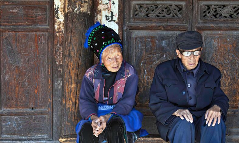 60 yrs together;  Zhoucheng,China