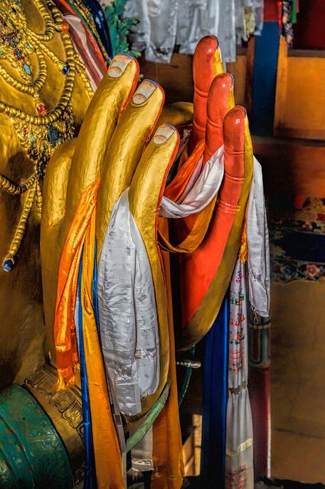 Namaste; Thikse Monastery