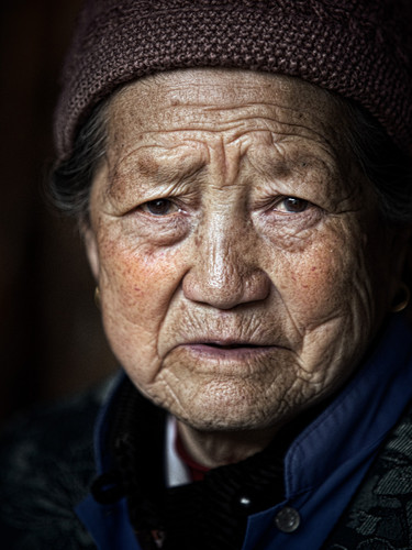 Survivor of the Cultural Revolution; Xizhou, China